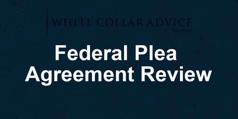 Federal Plea Agreement Review