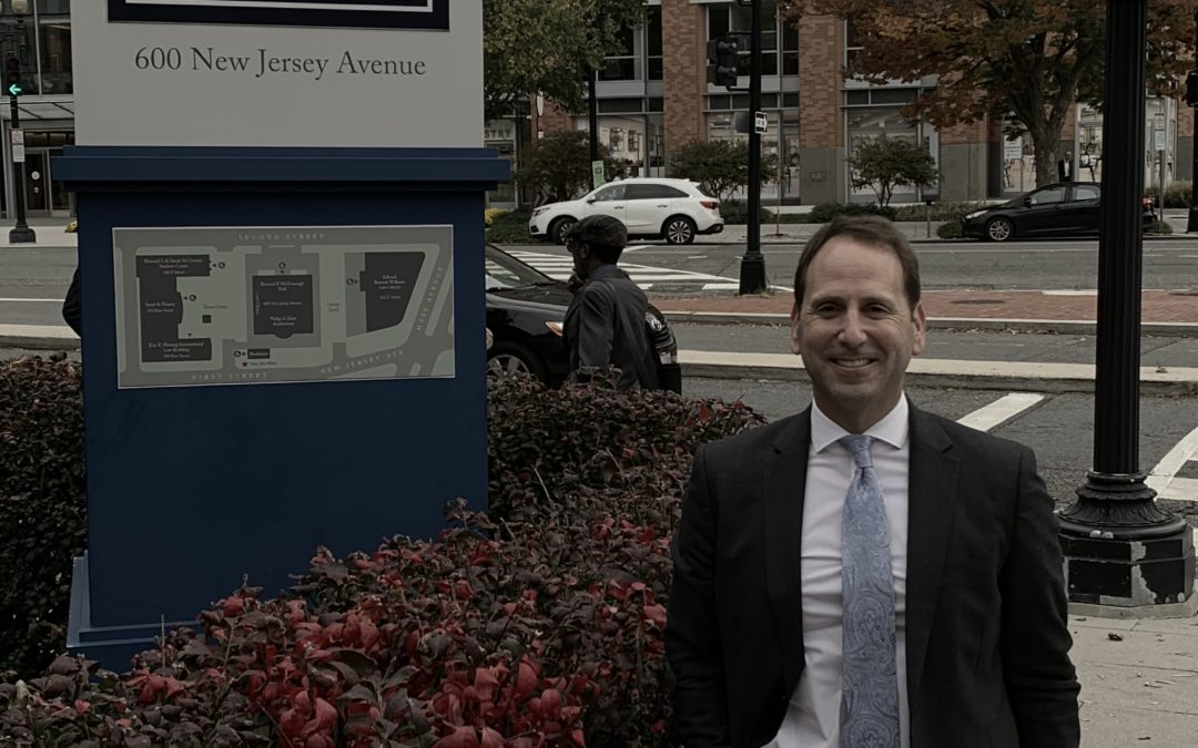 Federal Prison Consultant Justin Paperny Offers Thoughts Before Georgetown Law School Lecture