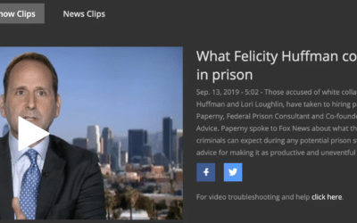 What Felicity Huffman Could Expect in Prison (Justin Paperny on Fox News)