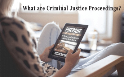 What are Criminal Justice Proceedings? (Chapter 4)