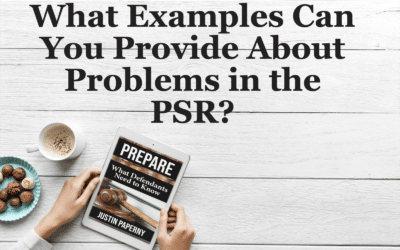 What Examples Can You Provide About Problems in the PSR? (Chapter 8)