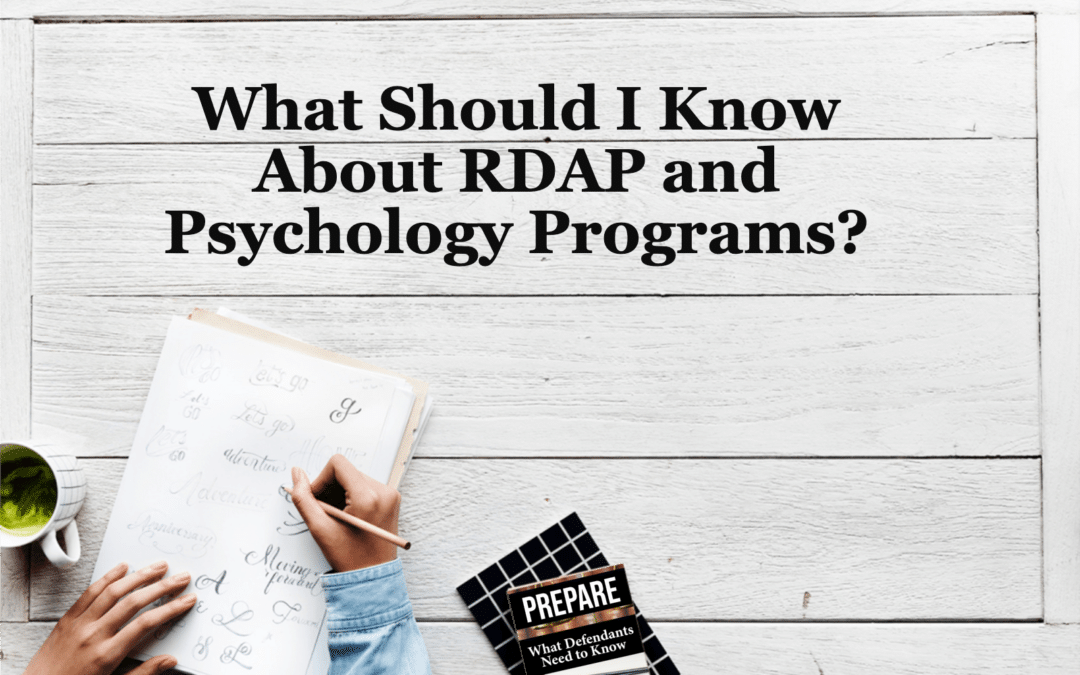 What Should I Know About RDAP and Psychology Programs?