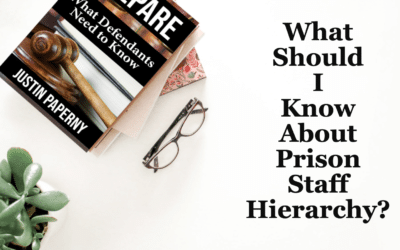 What Should I Know About Prison Staff Hierarchy? (Chapter 11)