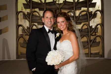 Married Sandra Paperny at Stephen Wise Temple