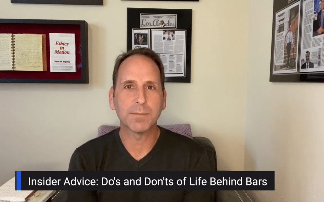 Federal Prison Advice: Do's and Don'ts of Life Behind Bars
