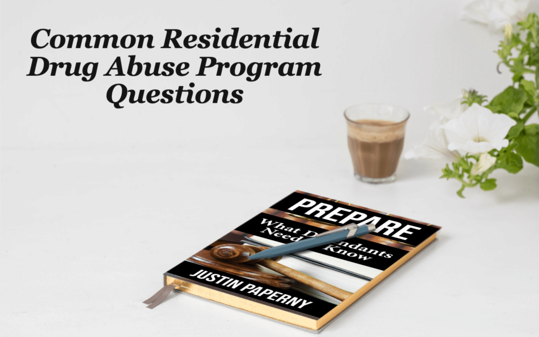 Common Residential Drug Abuse Program Questions