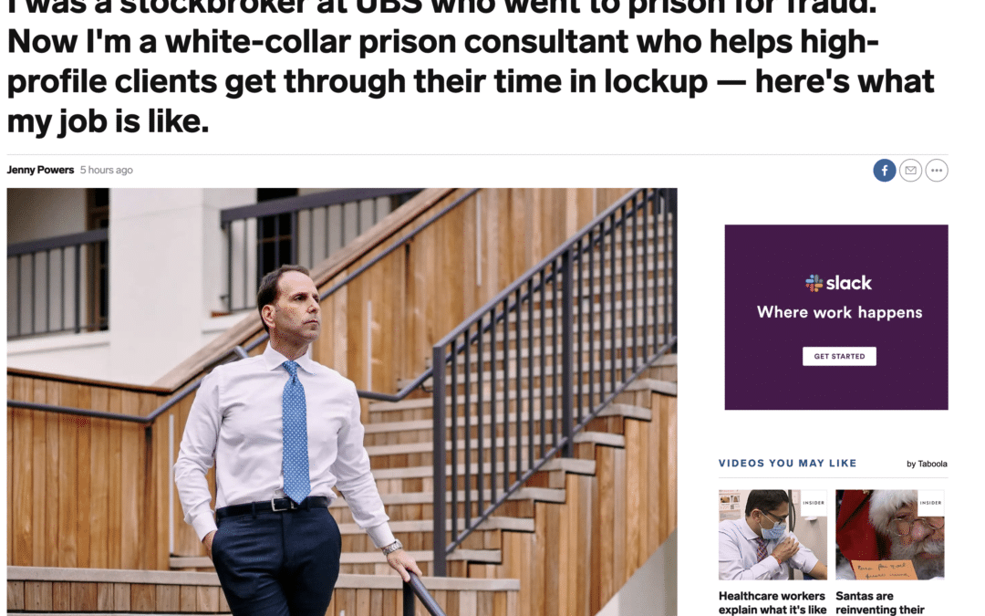 Business Insider Profiles White Collar Advice