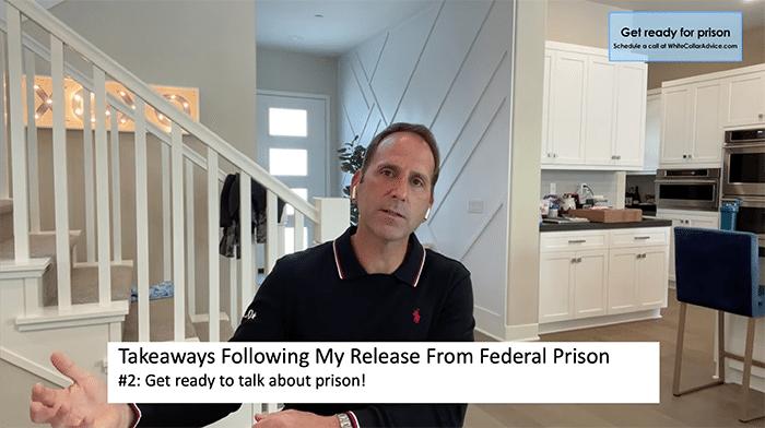 takeaways following my release from prison